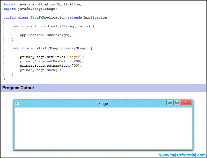 learn java by creating application