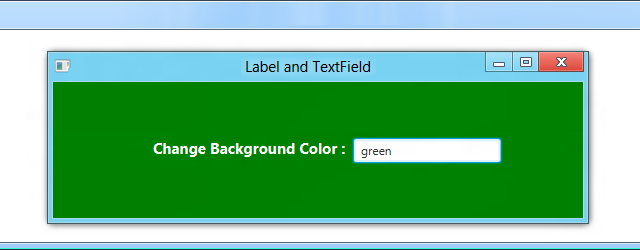 JavaFx-Label and TextField - JavaFx Tutorial